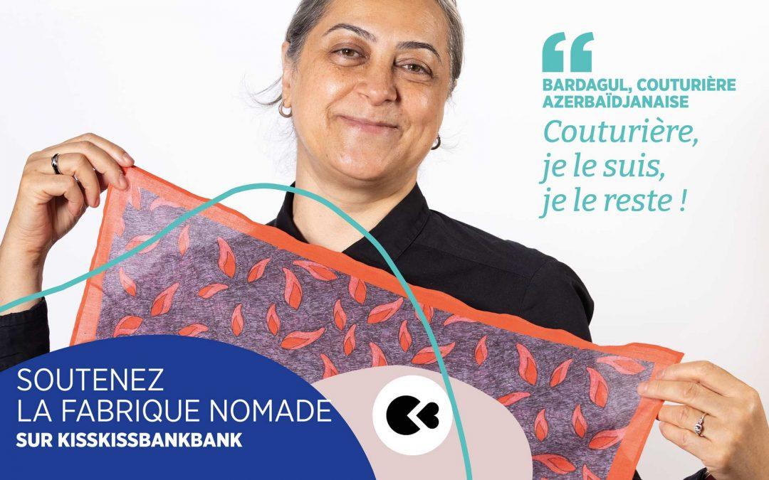 La Fabrique NOMADE lance son atelier d'insertion textile à Paris